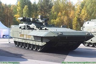T-15 BMP Armata AIFV tracked armoured infantry fighting vehicle Russia Russian army right side view 003