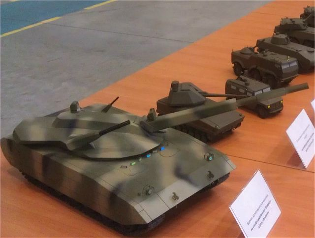 The Russian army could receive a prototype of the new Russian-made main battle tank Armata MBT for field testing almost a year earlier than scheduled, First Deputy Defense Minister Alexander Sukhorukov said on Wednesday, August 8, 2012.