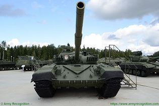 T 72A MBT Main Battle Tank Russia Russian army defense industry military equipment front view 001