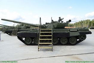 T 72A MBT Main Battle Tank Russia Russian army defense industry military equipment left side view 001