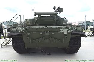 T 72A MBT Main Battle Tank Russia Russian army defense industry military equipment rear back view 001