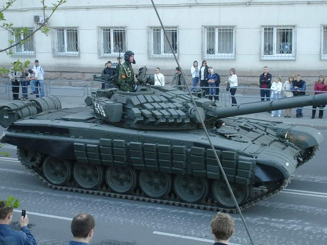 T-72AV main battle tank Russia Russian army defense industry military equipment 640 003