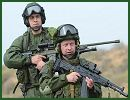 "Russia will conduct in April state tests of military equipment sets Ratnik, nicknamed ""future soldier uniforms,"" Defense Ministry ground forces spokesman Lt. Col. Nikolai Donyushkin said on Sunday, January 6, 2013."