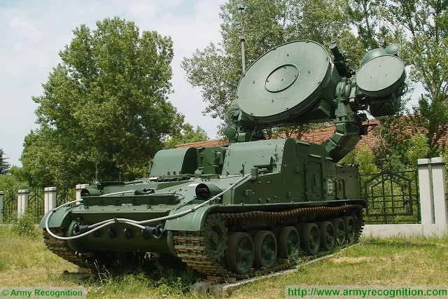 1S32 Pat Hand H-band fire control and guidance radar Russia Russian army defense industry 640 001