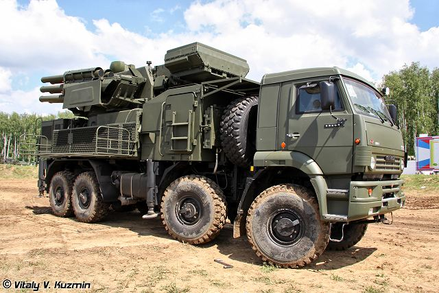 "The Russian Air Force will receive over 30 Vityaz and 100 Pantsir-S air defense systems by 2020, spokesman Col. Vladimir Drik said on Monday, January 23, 2012. ""We are planning to acquire by 2020 more than 100 short-range Pantsir-S and over 30 mid-range Vityaz systems to rearm air defense units,"" Drik said."