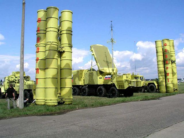 S-300 PMU2 surface-to-air defense missile system Russia Russian army 640 002