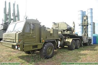 S 400 Triumph triumf 5P85TE2 SA 21 Growler surface to air SAM long range missile defense system Russia Russian amy leftt side view 002
