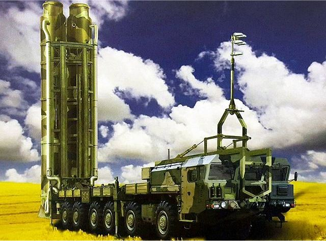 S-500 77P6 air defense missile system TEL Transporter Erector Launcher vehicle Russia Russian defence industry 640 001