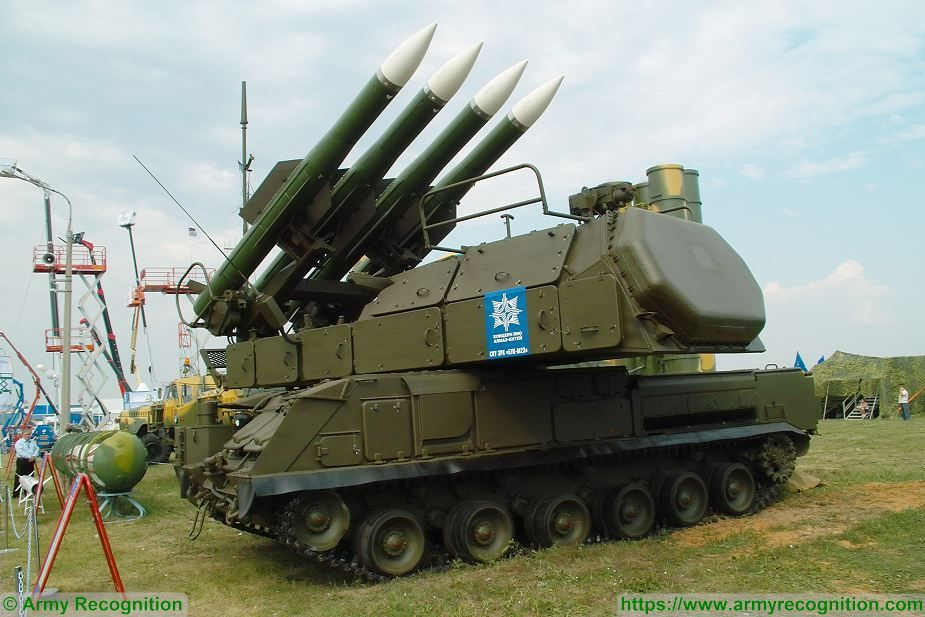 SA 17 Buk M2 9K37M2 surface to air defense missile system Russia Russian army defense industry military technology 925 001