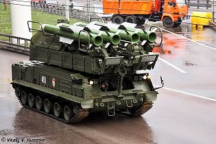 SA-17 Grizzly BUK-M2 9A317E missile technical data sheet specifications information description pictures photos images intelligence identification intelligence Russia Russian army medium range air defence defence industry military technology
