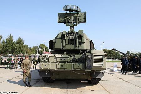 TOR M2 SA 15D short range surface to air defense misssile system Russia Russian army rear view 001