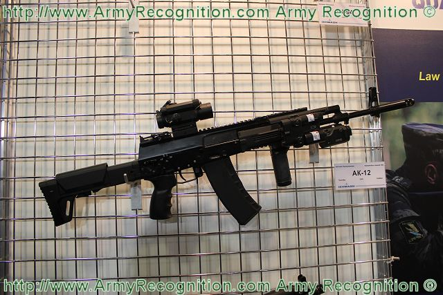 AK-12 Kalashnikov assault rifle Izmash Russia Russian defence industry military technology 640 001