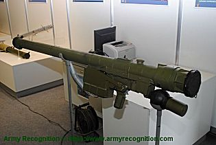 SA 24 Grinch 9K338 Igla S 9M342 missile portable air defense missile system manpads Russia Russian right side view 002