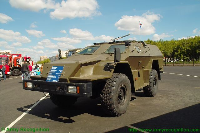 bpm-97 Vystrel Kamaz 43269 wheeled armoured vehicle Russia Russian army equipment defense industry 640 001