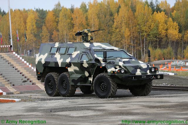 Bulat SBA-60-K2 Kamaz-5350 6x6 APC armoured vehicle personnel carrier Russia Russian army military equipment 640 001
