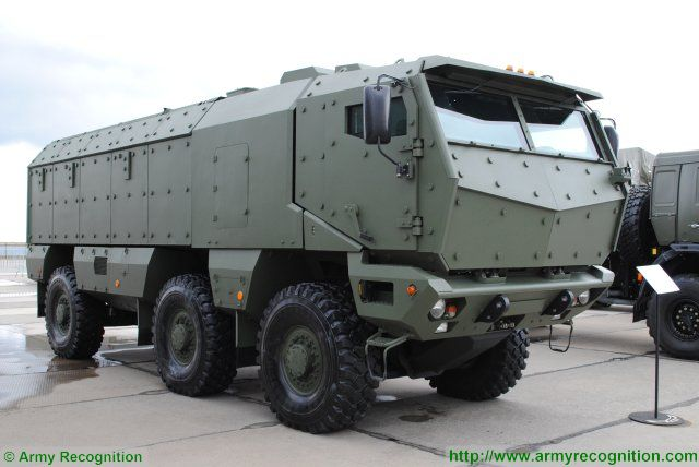 Reconnaissance and Special Forces units of the Russian armed forces will soon be equipped with the Typhoon-U type vehicles produced by Ural Automotive Plant and the Typhoon-K type manufactured by KamAZ