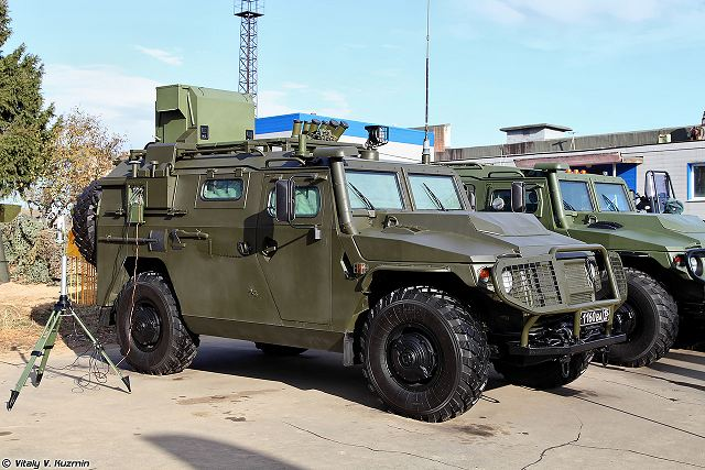 Tigr RkhM NBC 4x4 reconnaissance armoured vehicle Russia Russian army defense industry military equipment 640 001
