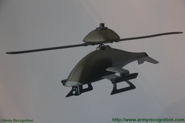 EDePro introduces two new porject of UAV at PARTNER 2015 the Rapier and the Atrox 640 002