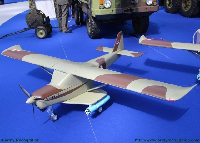 New unmanned variant project of AeroEastEurope SILA 450C introduced in Serbia 640 001