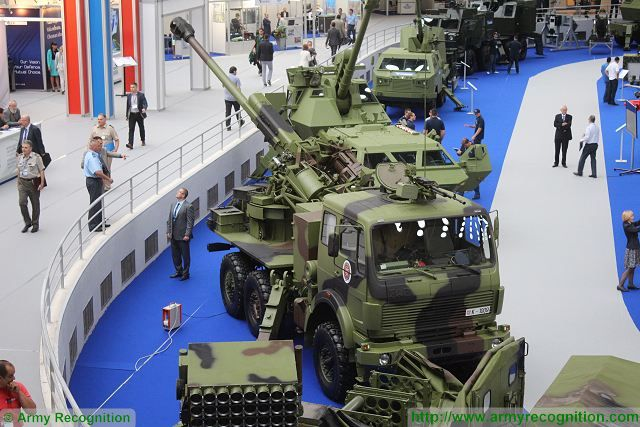 The SORA is a new Serbian-made 122 wheeled self-propelled howitzer which offer high mobility and fire power thanks to the using of an autoloader system and a 6x6 military truck chassis. It is developed by the Military Technical Institute (MTI) for the Serbian army.