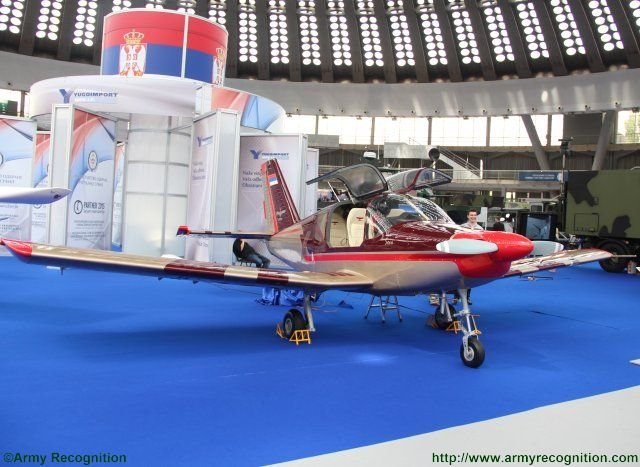 Yugoimport unveils brand new Sova trainer and light attack aircraft at PARTNER 2015 640 002