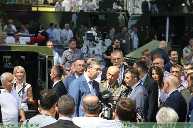 Today June 27, 2017, opening of Partner 2017, the International Fair of Armaments and Defense Equipment that takes place in Belgrade, Serbia from the 27 to 30 June 2017. This event is an unique opportunity for the Serbian defense industry to showcase latest innovations and technologies of military equipment to international guests and military delegations.