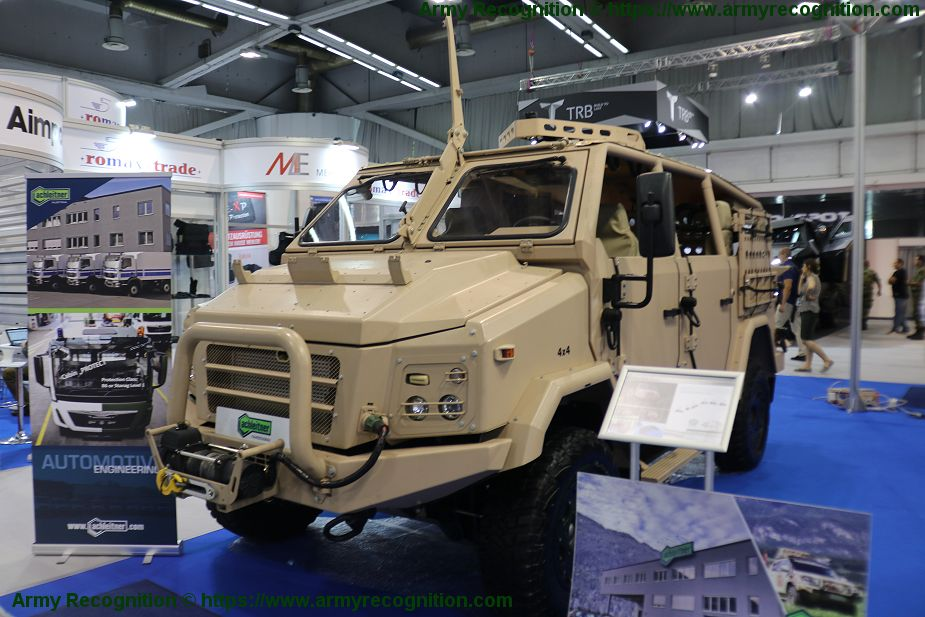Achleitner promotes its range of security and military vehicles Partner 2019 Serbia 925 001