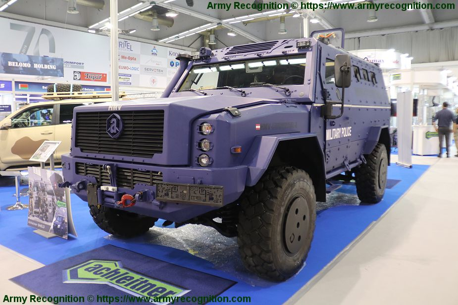 Achleitner promotes its range of security and military vehicles Partner 2019 Serbia 925 003
