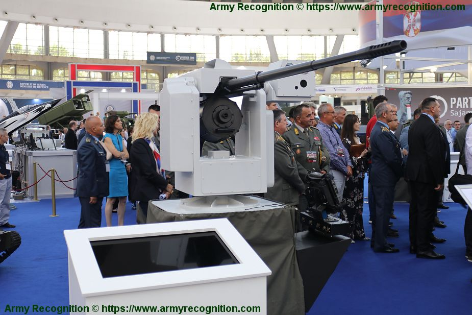 New KIKLOP 20mm remotely controlled weapon station Partner 2019 Serbia 925 001