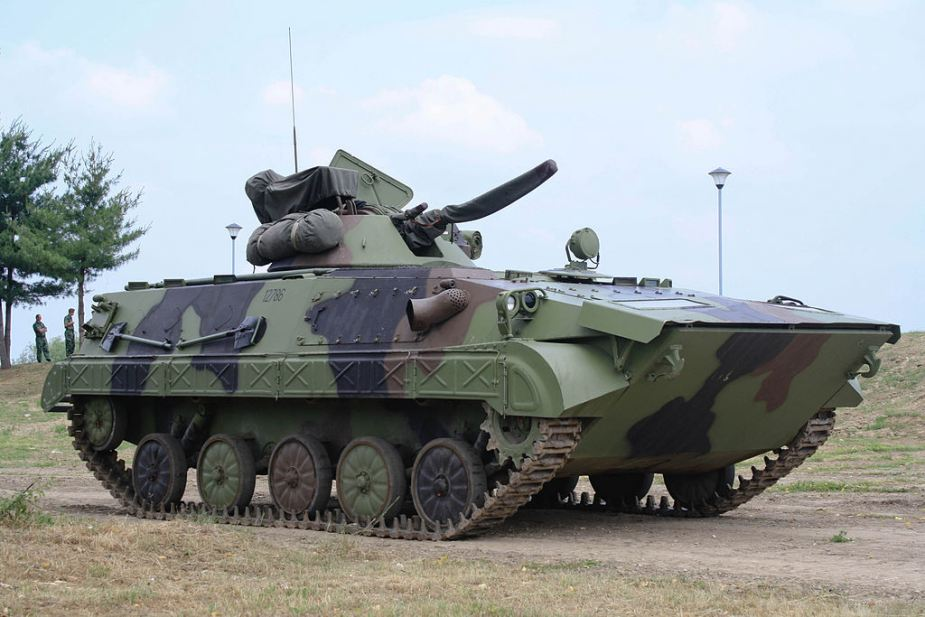 BVP M80A Infantry Fighting Vehicle Serbian Army 1