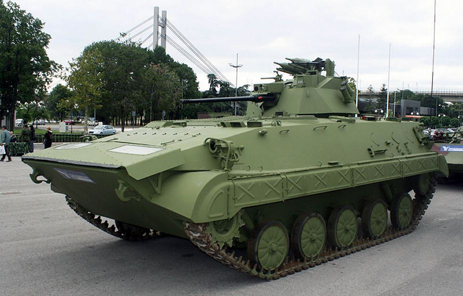 BVP M80A Infantry Fighting Vehicle Serbian Army 2