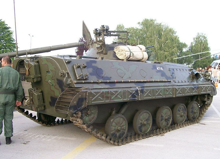 BVP M80A Infantry Fighting Vehicle Serbian Army 3