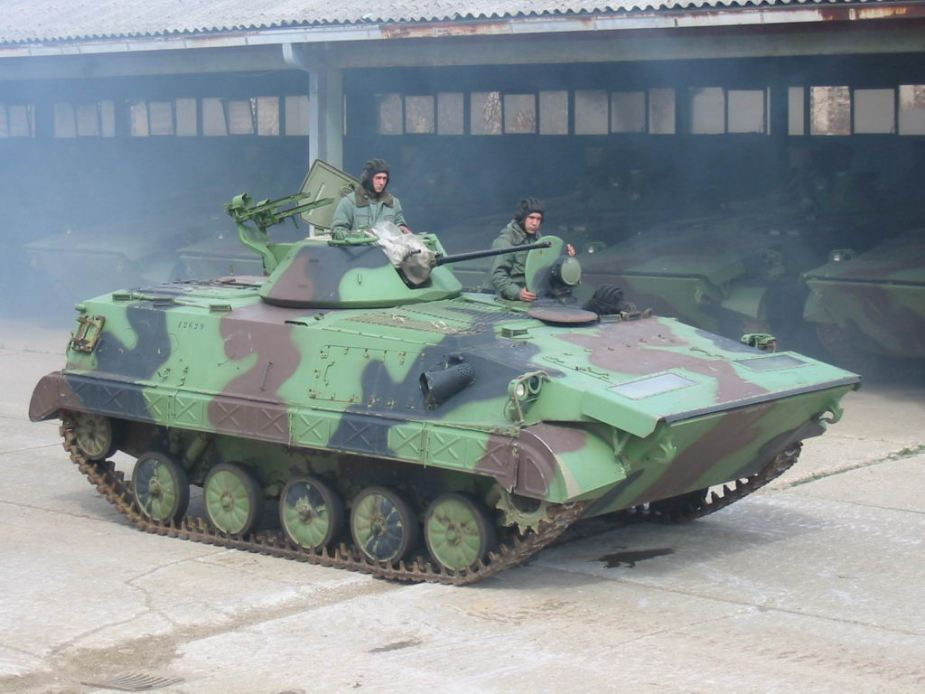 BVP M80A Infantry Fighting Vehicle Serbian Army 4