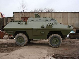 BOV 4x4 armoured vehicle personnel carrier technical data sheet specifications description information intelligence pictures photos images identification Serbia Serbian defence industry army military technology