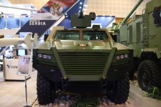 Milosh BOV M16 4x4 armoured multi-purpose combat vehicle technical data sheet specifications pictures video information intelligence description photos images identification YugoImport Serbia Serbian defence industry army military technology