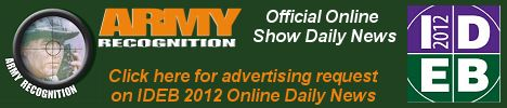 Your advertising on Army Recognition online daily news IDEB 2012, for request Click here