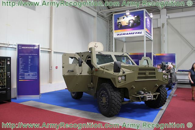 At the International Defence Exhibition of Bratislava IDEB 2012, the Slovak Company Kerametal presents a new variant of its range of armoured vehicle, the Aligator 4x4 Master. The new vehicle is based to the standard version of the Aligator personnel carrier family but fitted with a new chassis to increase mobility and payload.
