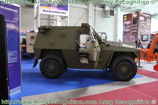 ALIGATOR 4x4 - MASTER has been developed and produced to provide the best and diverse solution for the need of the armed forces for light wheeled armored vehicles.
