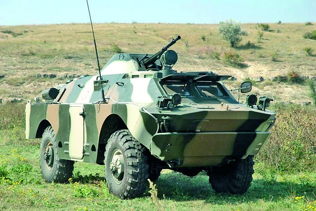 BRDM-2DI 4x4 armoured vehicle personnel carrier
