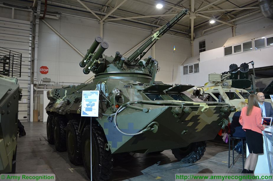 BTR 3DA 8x8 APC wheeled armoured vehicle personnel carrier Ukraine Ukrainian army defense industry 925 001