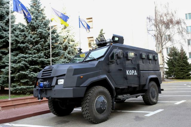 Varta-2 4x4 APC wheeled armoured vehicle personnel carrier Ukraine Ukrainian army military equipment defense industry 640 001