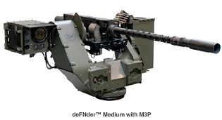 deFNder ™ Medium Weapon station FN Herstal technical data sheet description specifications information intelligence pictures photos images Belgium Belgian army weapons Defence industry military technology