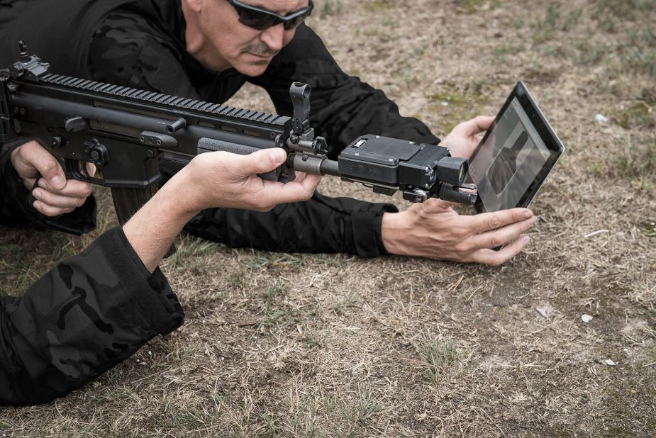 multiple shooters Marksman Marksmanship shooting training system for assault rifle & pistol FN Expert Herstal Belgium details 925 005