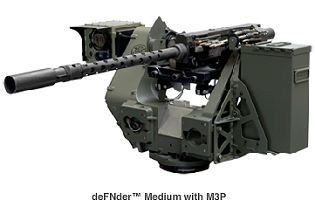 deFNder Medium Remote Weapon Station RWS Belgium defense industry left side 315 001