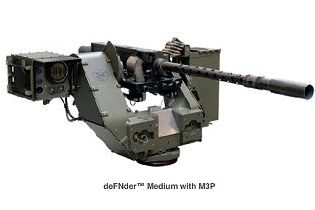 deFNder Medium Remote Weapon Station RWS Belgium defense industry right side 315 001