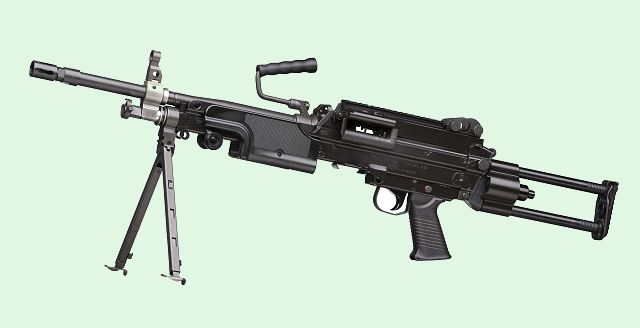 June 6, 2011. FN Herstal has recently been awarded a new contract by the UK Ministry of Defence for the supply of up to 176 MINIMI™ 7.62 light machine guns by the end of 2011.