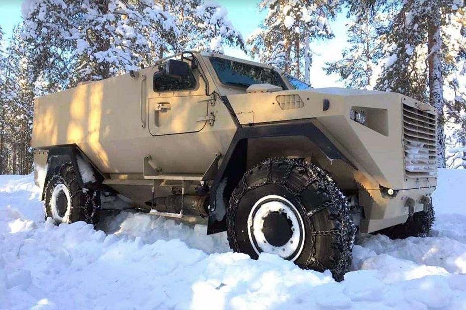 GTP 4x4 SISU modular wheeled armored vehicle Finland Finnish defense industry 925 001