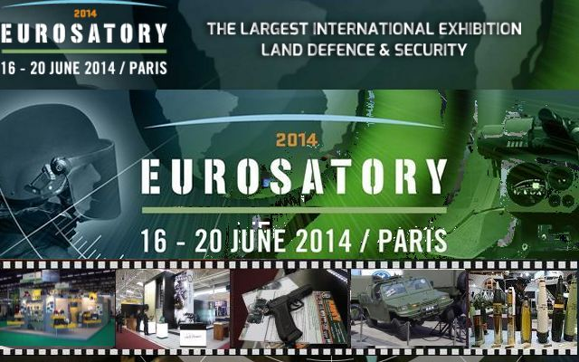 Eurosatory 2014 Television pictures photos images video video gallery galerie International Defence Security Exhibition Paris France 11 to 15 June 2012 world worldwide army military industry