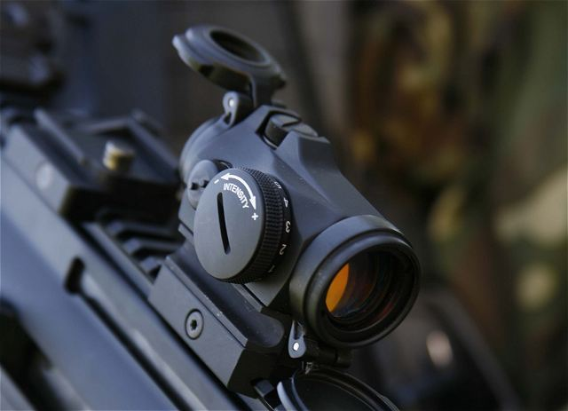At Eurosatory 2014, Aimpoint, the originator and world leader in electronic red dot sighting technology unveils its new Micro T-2 sight to the company's professional product line. The Micro T-2 will be available for shipment in September, 2014, and will be offered alongside the company's existing Micro T-1 product.
