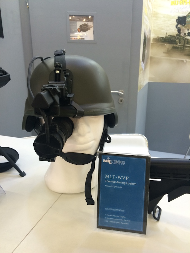 Eurosatory 2016 Combat proven EO IR technology for future soldier by Miltech Hellas 1